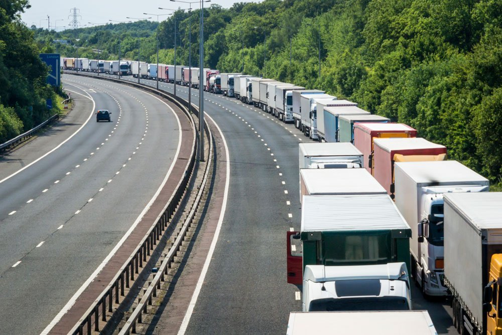 The new moveable barrier in Kent will prevent the traffic queuing problems of Operation Stack